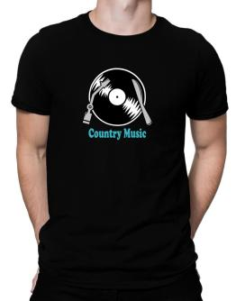 Country Music - Lp Men T-Shirt