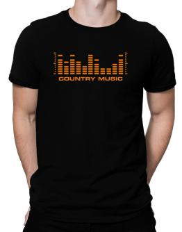 Country Music - Equalizer Men T-Shirt
