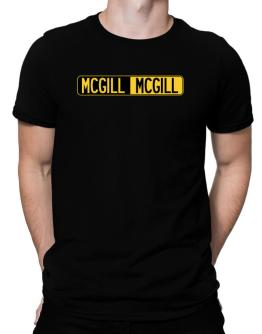 Negative Mcgill Men T-Shirt