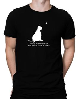 Easily Distracted By Banjo Players Men T-Shirt