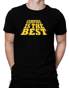 Camping Is The Best Men T-Shirt