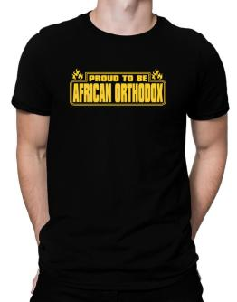 Proud To Be African Orthodox Men T-Shirt
