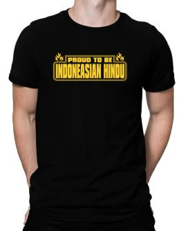 Proud To Be Indoneasian Hindu Men T-Shirt