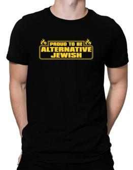 Proud To Be Alternative Jewish Men T-Shirt