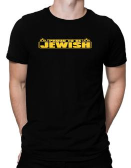 Proud To Be Jewish Men T-Shirt