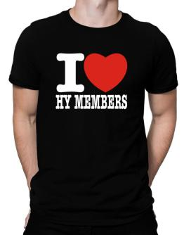 """ I love Hy Members "" Men T-Shirt"