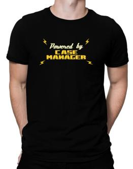 Powered By Case Manager Men T-Shirt