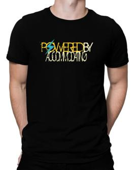 Powered By Accommodating Men T-Shirt