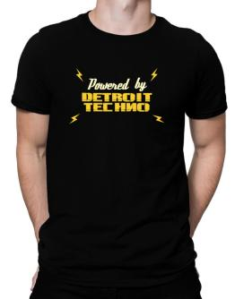 Powered By Detroit Techno Men T-Shirt