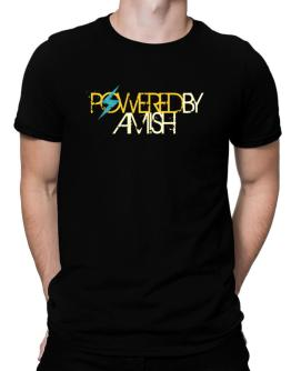 Powered By Amish Men T-Shirt