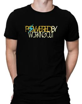 Powered By Working Out Men T-Shirt