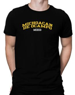 Country Michoacan De Ocampo Men T-Shirt