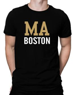 Boston - Postal usa Men T-Shirt