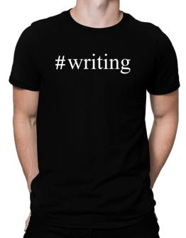 #Writing - Hashtag Men T-Shirt