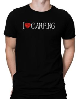 I love Camping cool style Men T-Shirt