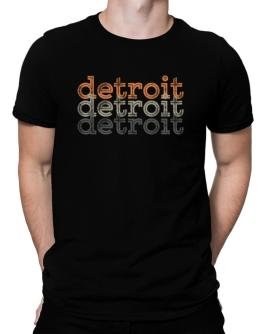 Detroit repeat retro Men T-Shirt