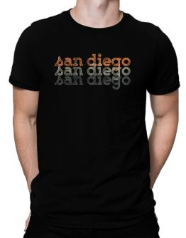 San Diego repeat retro Men T-Shirt