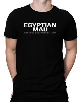 Egyptian Mau is proof that god loves us Men T-Shirt
