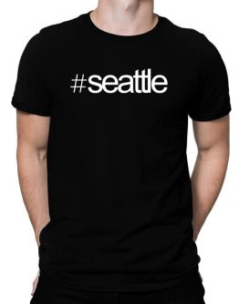 Hashtag Seattle Men T-Shirt
