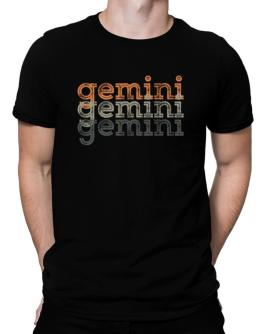Gemini repeat retro Men T-Shirt