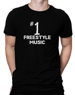 Number 1 Freestyle Music Men T-Shirt