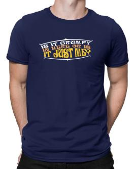 Is It Grumpy In Here Or Is It Just Me? Men T-Shirt