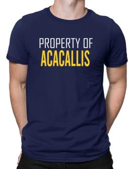 Property Of Acacallis Men T-Shirt