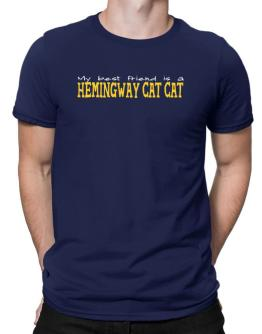 My Best Friend Is A Hemingway Cat Men T-Shirt
