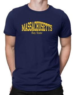 State Nickname Massachusetts Men T-Shirt