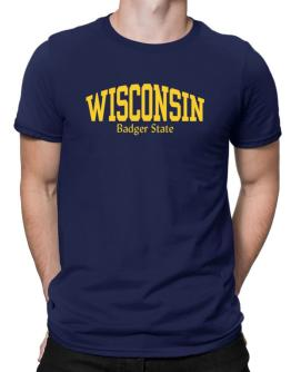 State Nickname Wisconsin Men T-Shirt