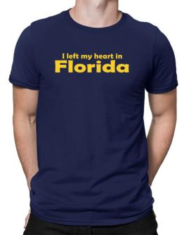 I Left My Heart In Florida Men T-Shirt