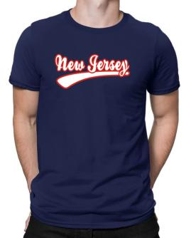 Retro New Jersey Men T-Shirt