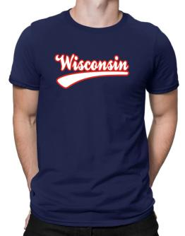 Retro Wisconsin Men T-Shirt