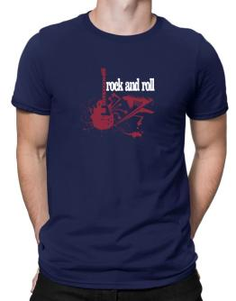 Rock And Roll - Feel The Music Men T-Shirt