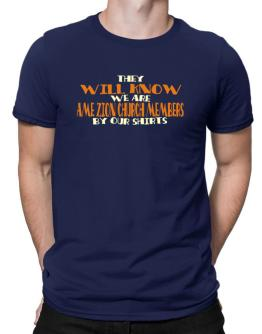 They Will Know We Are Ame Zion Church Members By Our Shirts Men T-Shirt