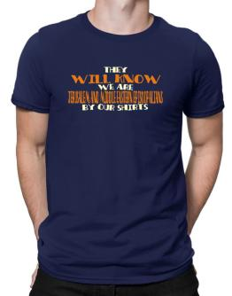 They Will Know We Are Jerusalem And Middle Eastern Episcopalians By Our Shirts Men T-Shirt