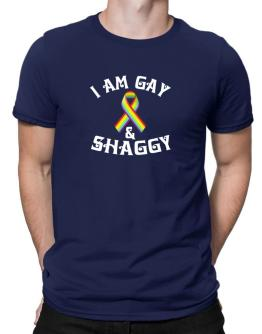 I Am Gay And Shaggy Men T-Shirt