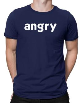 """"""" angry word """" Men T-Shirt"""