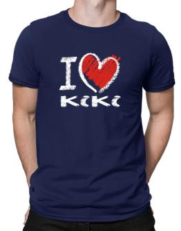 Polo de I love Kiki chalk style