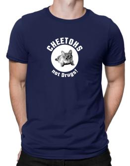 Cheetohs not drugs! Men T-Shirt