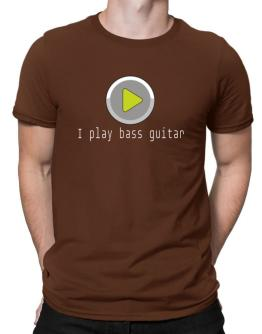 I Play Bass Guitar Men T-Shirt