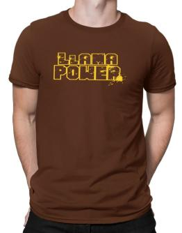 Llama Power Men T-Shirt