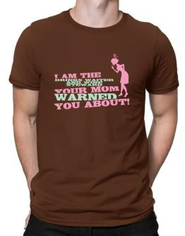 Drinks Waiter And Wine Steward Your Mom Warned You About Men T-Shirt