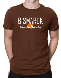 """ Bismarck - State Map "" Men T-Shirt"