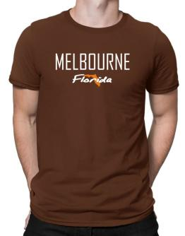""" Melbourne - State Map "" Men T-Shirt"
