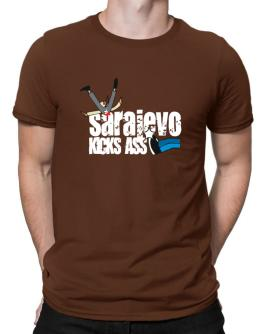 Sarajevo Kicks Ass Men T-Shirt