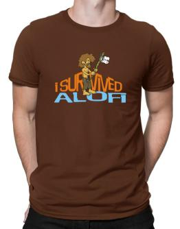 I Survived Alofi Men T-Shirt