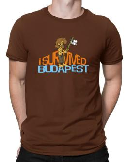 I Survived Budapest Men T-Shirt