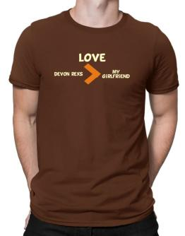 Love Devon Rexs > My Girlfriend Men T-Shirt