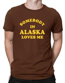 Somebody Alaska Men T-Shirt